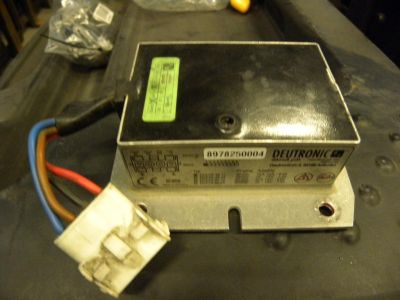 Voltage converter Deutronic type DVC75-48-12 for Jungheinrich