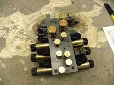 Hydraulic block From Buchholz/Caterpillar  NR16K